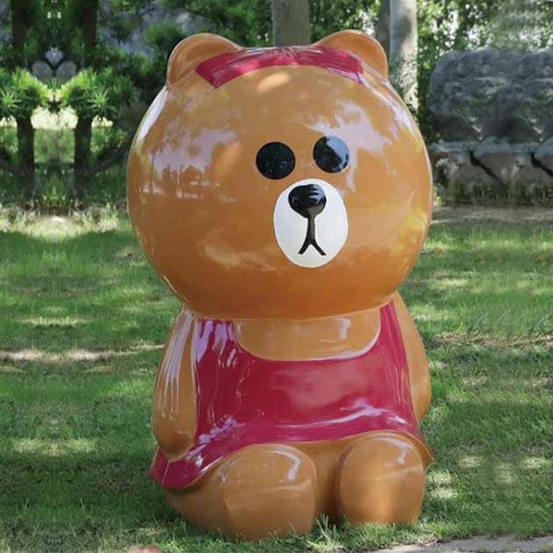 熊熊垃圾桶