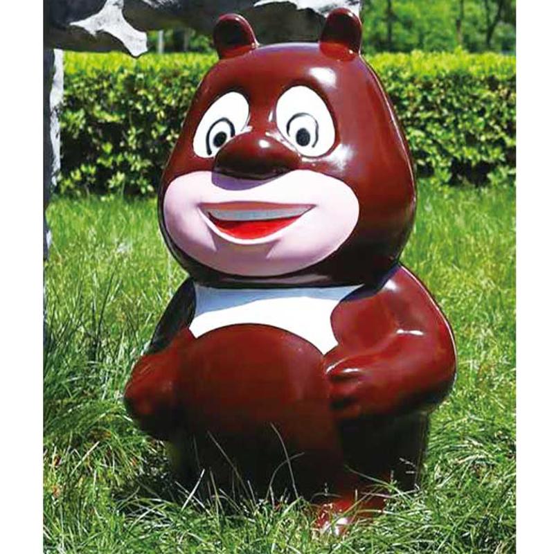 熊二垃圾桶