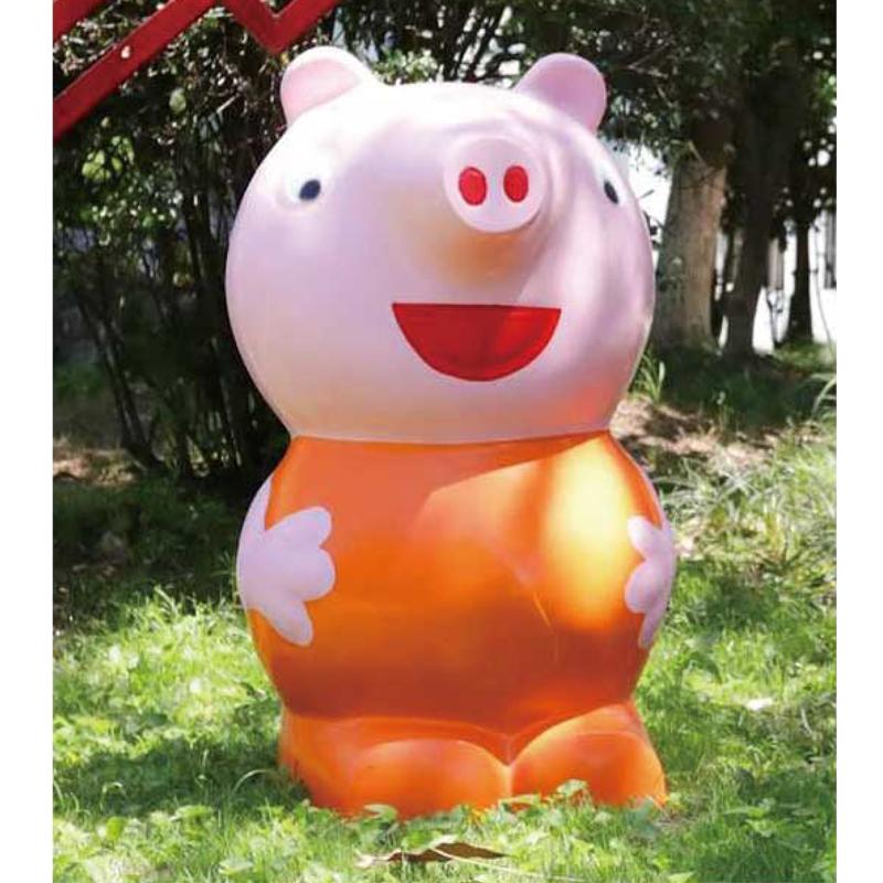 小猪垃圾桶
