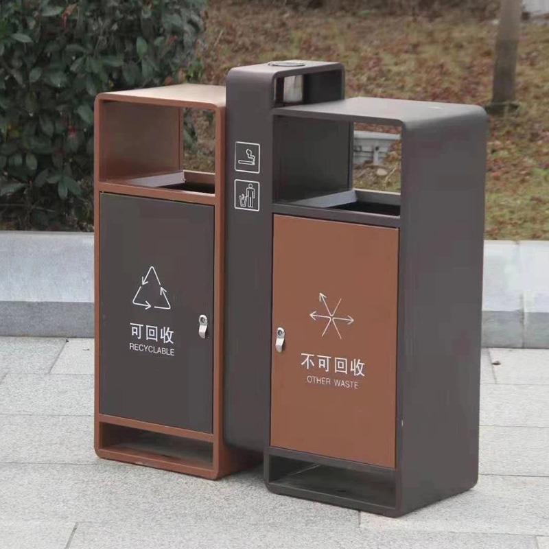 简约户外垃圾桶