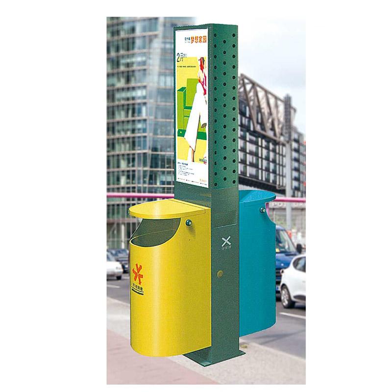 广告垃圾桶5