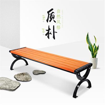 钢木公园条凳