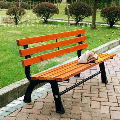钢木公园条凳7