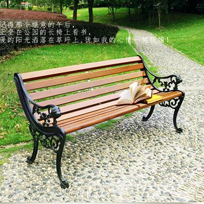 钢木公园条凳4