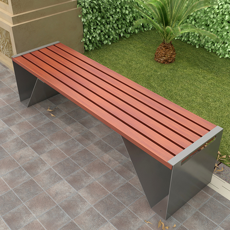 户外公园椅3