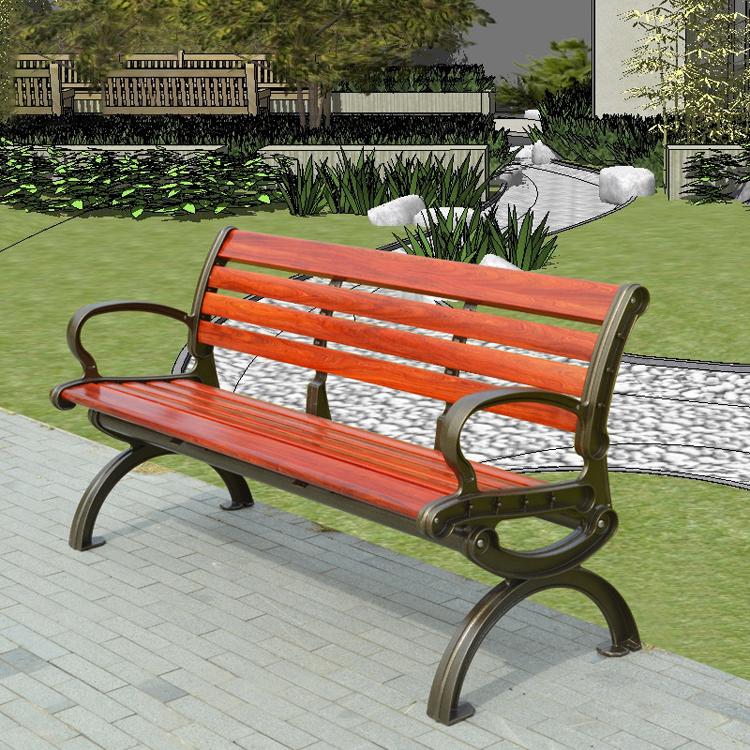 户外公园椅14