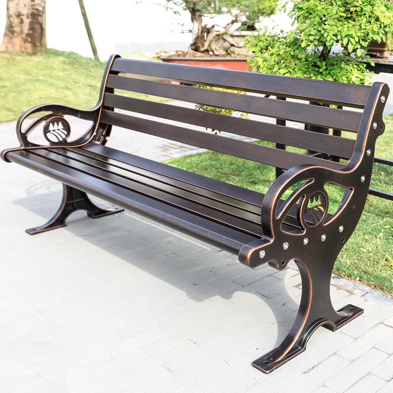 海豚铸铝公园椅--定制款
