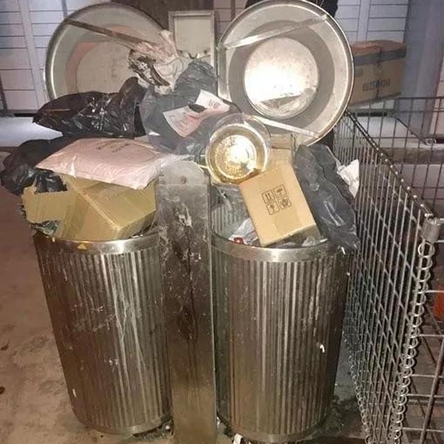 垃圾桶厂家认为电商过度包装应该规范放入
