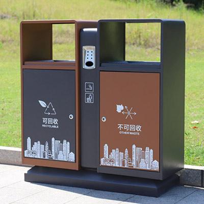重庆即将开始垃圾分类?主城这些地方已经在安垃圾桶了
