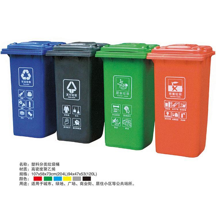 四分类垃圾桶1